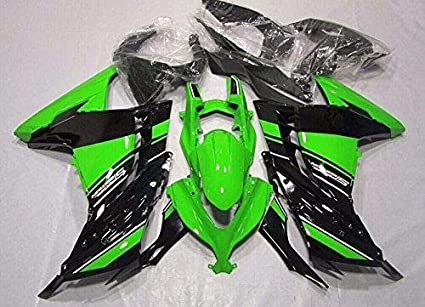 Cuerpo de ABS de inyección de plástico verde Negro pintado Kit ...