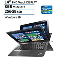 2016 Lenovo Thinkpad Yoga 2-in-1 Convertible 14 FHD Touchscreen Laptop(Tablet), 6th Gen Intel Skylake Core i5-6200U, 8GB Ram, 256GB SSD, NVIDIA GeForce 940M, Backlit Keyboard, HDMI, Win 10