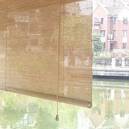 Persiana Enrollable Patio al Aire Libre Sun Shade Roller Shade, Porche Exterior Persianas Enrollables para La Pérgola de La Glorieta del Patio Trasero de La Cubierta, 45/65/85/105/125/135 cm de Ancho: Amazon.es: Hogar
