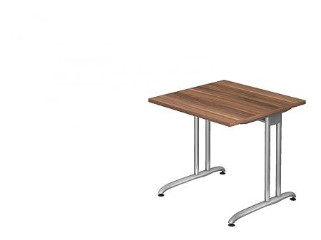 Oficina Mesa Dr de Oficina Serie B - 80 x 80 cm - Altura de ...