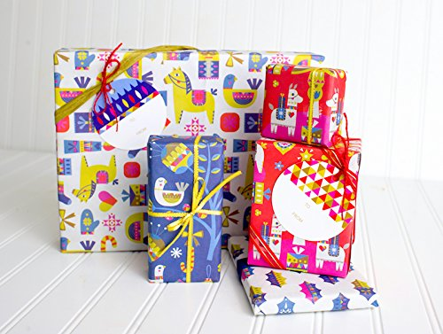 [Designer Christmas Gift Wrapping Set