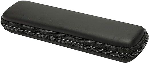 Estuche para bolígrafos EVA, estuche negro para suministros de papelería escolar de oficina: Amazon.es: Amazon.es