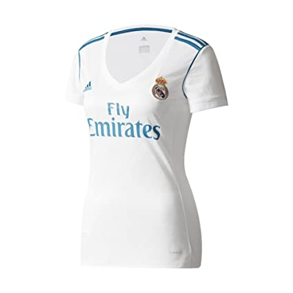 fad006105ec Amazon.com   adidas Real Madrid CF Home Womens Jersey  WHITE  (2XS ...