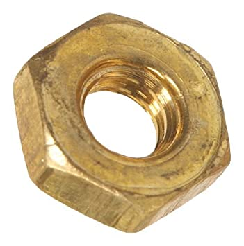 12-24-Inch 40-Pack The Hillman Group 942 Brass Hex Nut