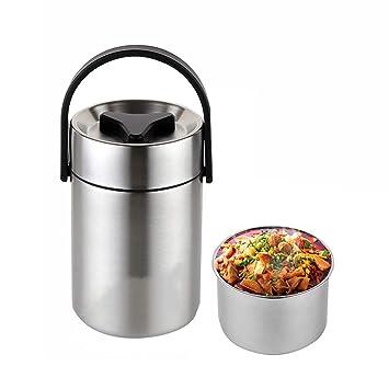 CFZHANG Boîte À Lunch Boîte Thermos pour Aliments en Acier Inoxydable  Isotherme sous Vide, Thermo 74f11dbad776