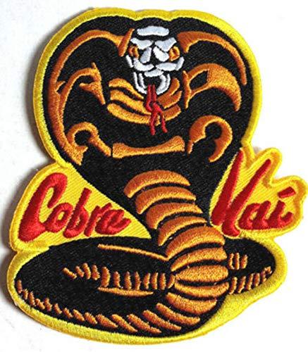 Karate Kid Cobra Kai Embroidered Iron On Patch
