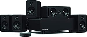 Platin Monaco 5.1 Plus Axiim Link Wireless Home Theater System for 2019-2020 LG OLED and NanoCell TVs & Xbox One Tuned by THX, WiSA Certified Speakers, 24-Bit High Resolution Wireless Audio System
