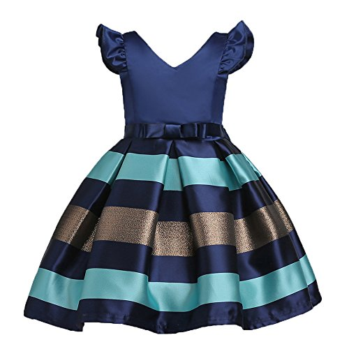 LZH Baby Girls Dress Flower Ball Gown Party