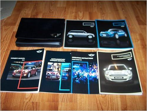 2007 Mini Cooper S Owners Manual Amazon Books