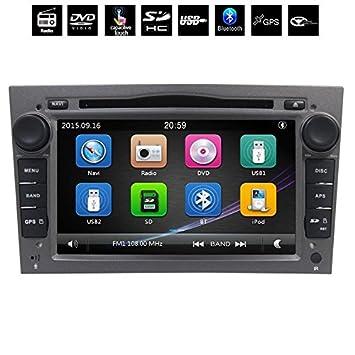GPS DVD USB SD Bluetooth Radio 2 Din navegador Opel Vivaro/Opel Corsa y Opel Zafira/Opel Astra/Opel Antara/Opel Meriva/Opel Vectra/Opel Tigra/Opel/Opel ...