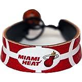 Miami Heat Team Color Basketball Bracelet