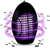 Athemo 2019 Upgraded Bug Zapper with UV Light, Indoor Outdoor Electronic Insect Killer, Mosquito Trap, Fly Pests Catcher Lamp