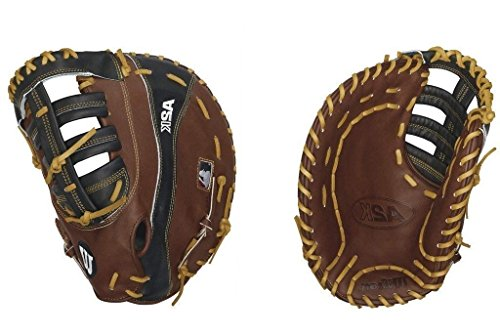 Wilson 2016 A2K 2800 First Base Baseball Glove, Walnut/Black/Blonde, Left Hand Thrower