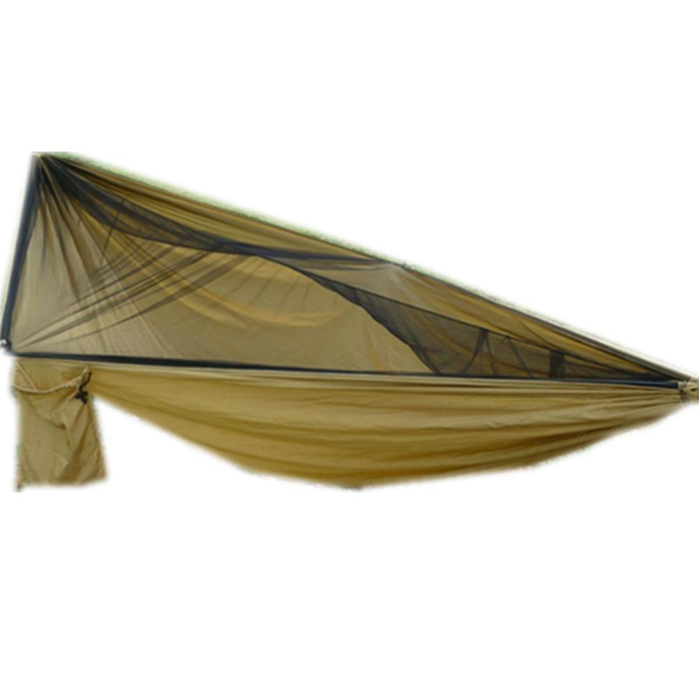 DZW Camping Outdoor Freizeit Hängematte Sky Vorhang 210D Oxford Tuch Sun Cover Mosquito Hängematte Swing Outdoor Hängematte Outdoor