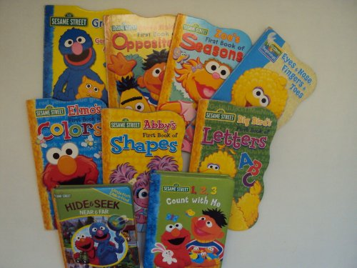 Sesame Street Collection: Grover's Guessing Game About Animals; Big Bird's First Book of Letters; At the Zoo; Eyes, Nose, Fingers, Toes; Bert & Ernie's First Book of Opposites; Elmo's First Book of Colors ()