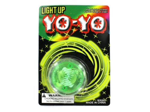 Light up yo-yo - Pack of 72