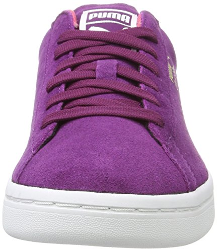 Puma Adulte Purple dark Basses Sneakers Violet Court Suede Mixte Star r8zpqr7Y