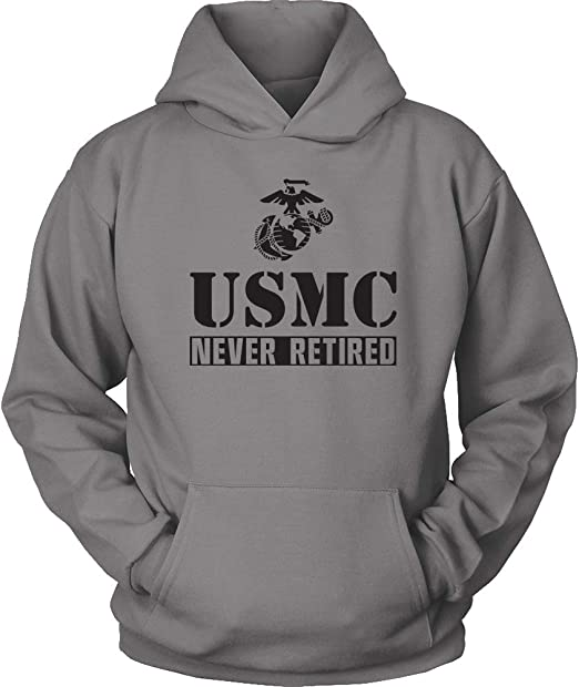 US Marines sweatshirt Men/'s size USMC hoodie marine corps sweat shirt hoody
