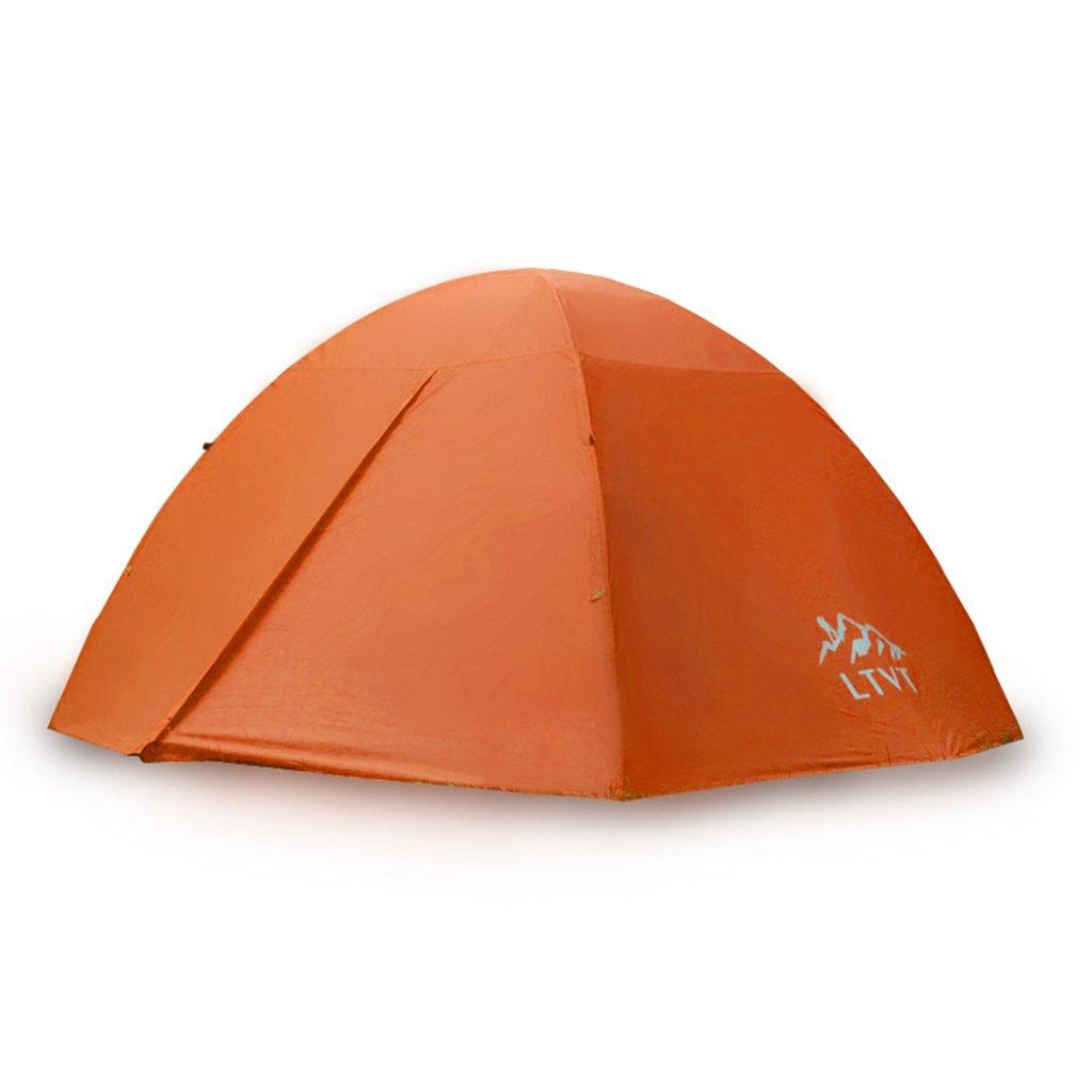 DFHHG@ Zelt, Aluminiumstange Doppelzelt im Freien Doppel Camping Zelt 280  120cm