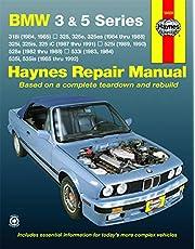 BMW 3 & 5 Series 1982 thru 1992 Haynes Repair Manual