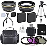Advanced Accessory Package for Panasonic LUMIX GX7 16.0 MP DSLM Camera (Which have the Panasonic G Vario 14-42mm f/3.5-5.6 II or 20mm Lens)