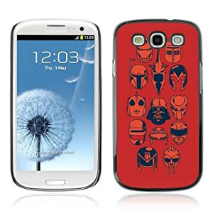 Designer Depo Hard Protection Case for Samsung Galaxy S3 / Cool Movie Helmets