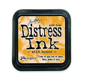 Ranger DIS-27201 Tim Holtz Distress Ink Pad, Wild Honey