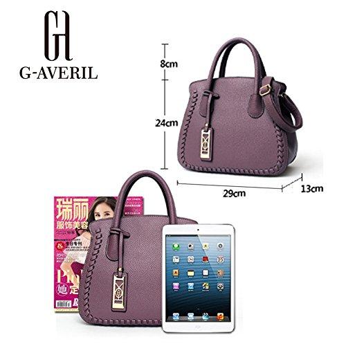 Unknown - Bolso mochila  para mujer Rosa rosa granate