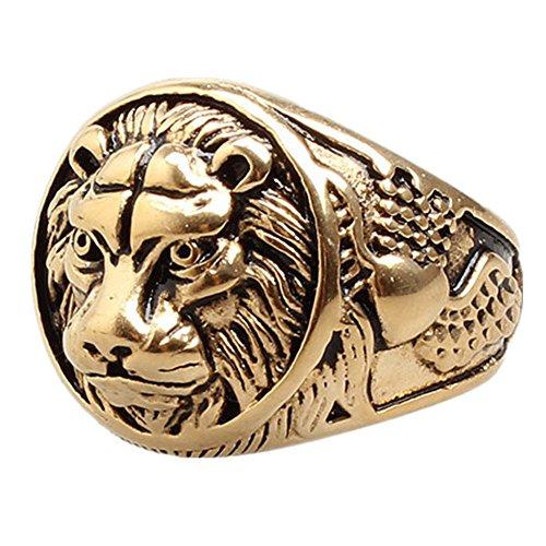 lion head ring - 3