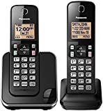 Best Cordless Phones - Panasonic KX-TGC352B 2-Handset Expandable Cordless Phone with Amber Review
