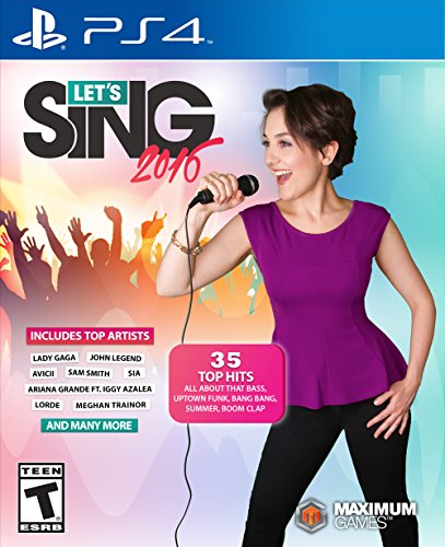 (Let's Sing 2016 - PlayStation 4)