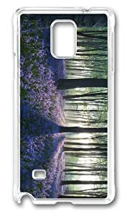 Adorable Flowers in Forest Hard Case Protective Shell Cell Phone HTC One M8 - PC Transparent
