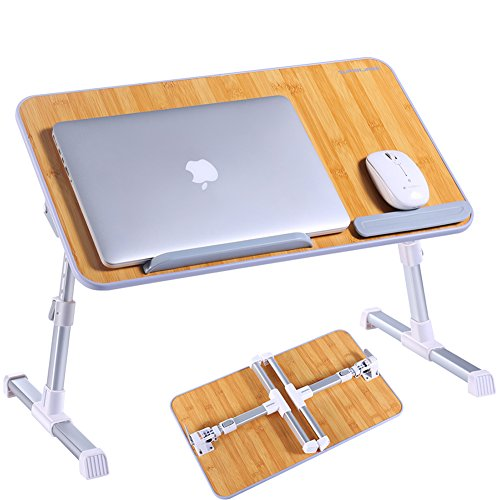 Portable Laptop Table by Superjare   Foldable & Durable D...
