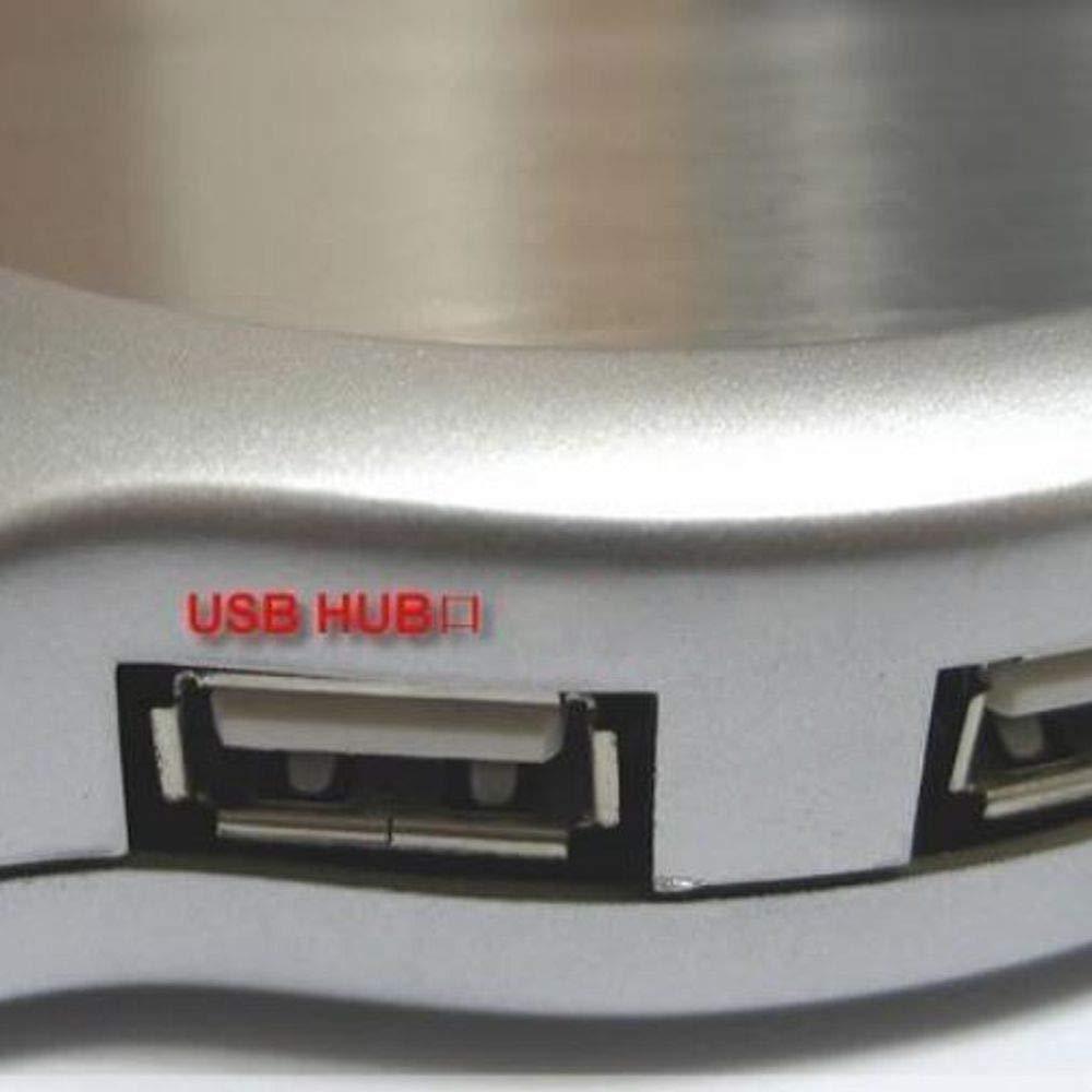 Mug Warmer, Desktop Heated Coffee & Tea - Multipurpose Heating Pad for Candle & Wax Warmer by ESCAOR (Image #4)