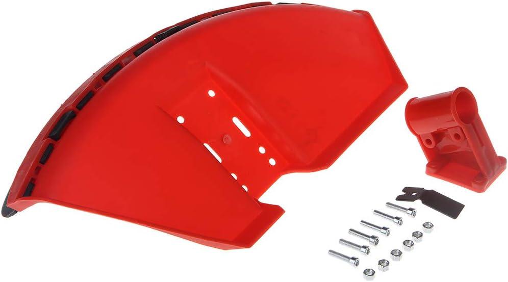 ZOOMY CG520 430 Desbrozadora Cubierta Protectora para Hierba Recortadora 26mm Protector de Hoja con Hoja