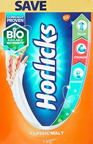 Horlicks Health and Nutrition drink – 1 kg Refill pack (Classic Malt)