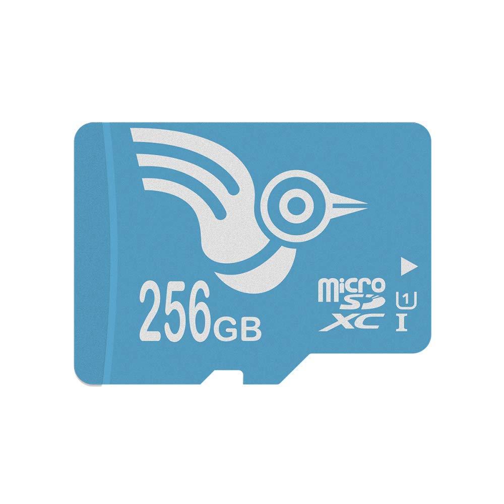 ADROITLARK Tarjeta MicroSD 256GB Clase 10 UHS-1 U1 Tarjeta de Memoria Micro SDXC con Adaptador para teléfonos Inteligentes/Tableta/Hero/GoPro/cámara ...