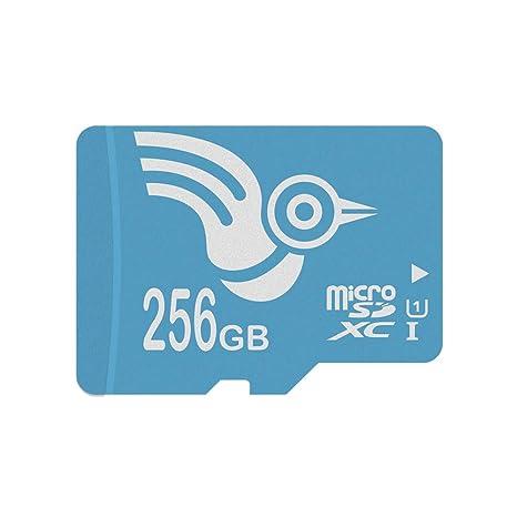 ADROITLARK Tarjeta MicroSD 256 GB Clase 10 UHS-1 U1 Tarjeta de Memoria Micro SDXC con Adaptador para teléfonos Inteligentes/Tableta Cámara (U1 256 GB)