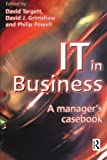 img - for IT in Business: A Business Manager's Casebook book / textbook / text book