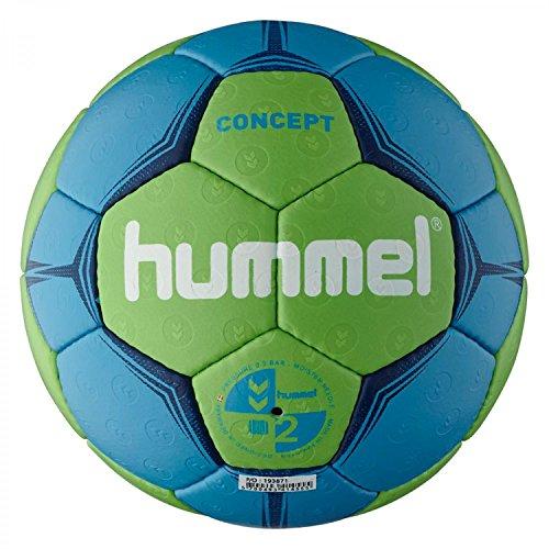 Hummel Erwachsene Handball CONCEPT, Neon Blue/Neon Green, 2, 91-788-7754