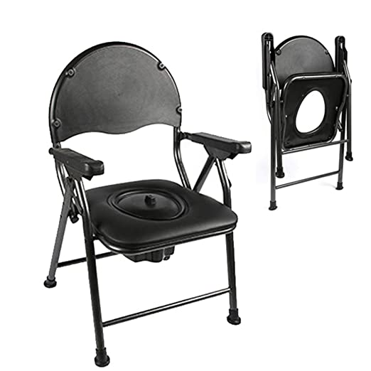 Toilet chair Plegable Silla Inodoro - portátil, Silla de ...