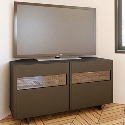 - Nuance 48-inch Corner TV Stand 102737 from Nexera, Espresso