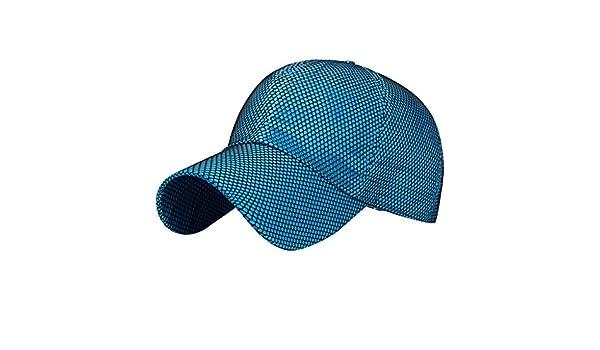 Winkey - Gorra de béisbol de Plena Malla Solar Transpirable para ...