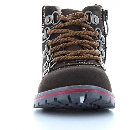 Bottines pour Fille URBAN B169644-B1758 D BROWN