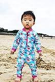 weVSwe Baby Toddler Sun Protection Blue Rash Guard