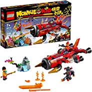 LEGO Monkie Kid Red Son's Inferno Jet 80019 Building Kit (299 Pieces)