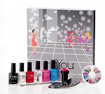 Amazon.com : MoYou Nail Art Premium Set : Nail Art Equipment : Beauty