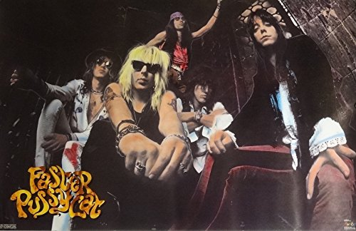 Faster Pussycat 23x35 Group Music Poster 1990
