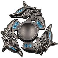 heytech Metal Fidget Spinner Hand Spinners Fidget Toy EDC...