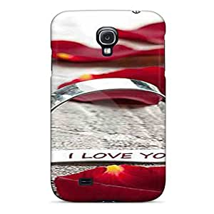 WAfAzqh58pRTem STWanke I Love You Feeling Galaxy S4 On Your Style Birthday Gift Cover Case